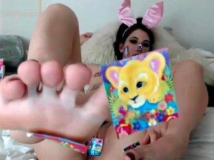 webcam chica footfetish cosplay,