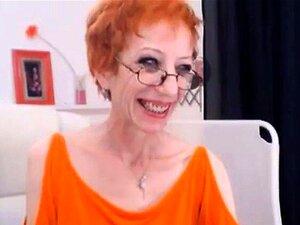 Anorexic Pelirroja Madura Masturbación