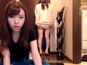 Japonés amateur lindo chicas webcum