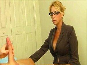Handjob porno milf Old Women