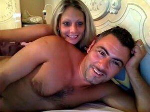 Rubia y su pareja por Webcam, esta rubia
