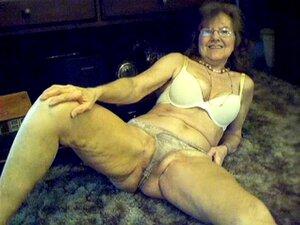 64 años dulce abuelita sexy con el pelo largo