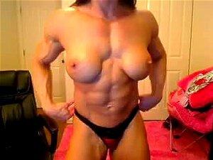 Chica de músculo (Webcam)